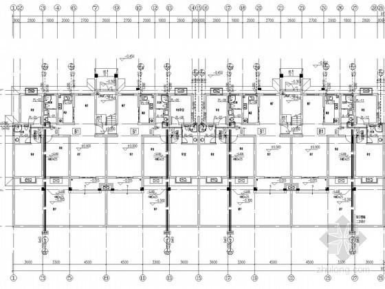 [河南]五层住宅给排水消防施工图(太阳能)