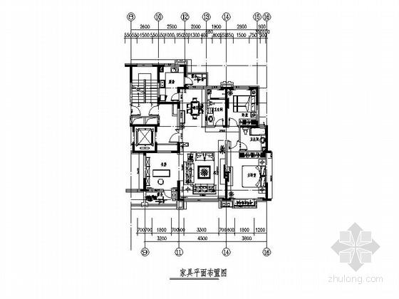 [北京]简约不简单现代私宅家装施工图