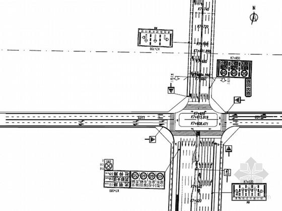 [安徽]城市主干道交通工程施工图设计97张(含监控)
