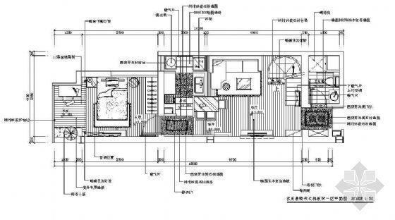 复式楼的设计--多元素现代