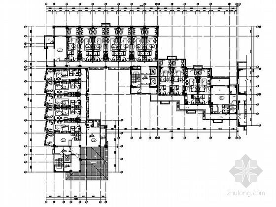 [海口]旅游胜地核心区域高档温泉酒店设计施工图(含效果图)