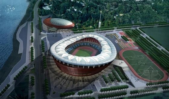 [四川]现代风格4层体育中心建筑设计方案文本