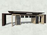 新中式风格建筑模式设计