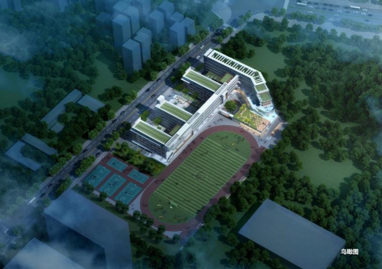 [广东]坂田第二初级中学建筑设计方案文本