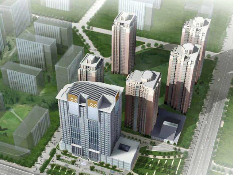 [北京]华润办公楼建筑设计方案文本