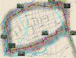 含立交桥跨线桥城市快速路景观亮化工程设计资料(方案,施工图、工可))