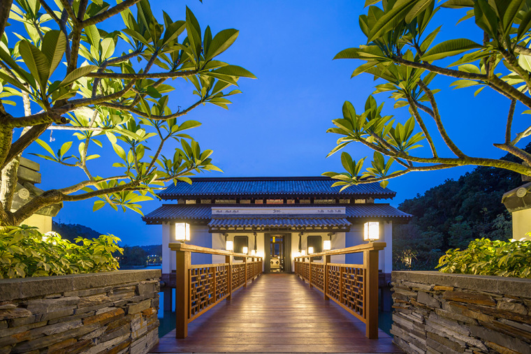 中信惠州汤泉度假村景观