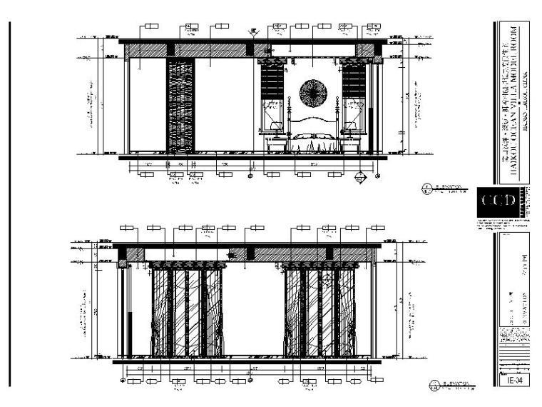[海口]南加州风格低层度假住宅设计施工图(含效果图+软装概念)_4
