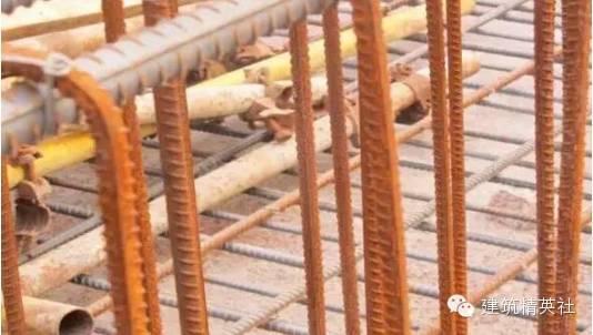 墙、柱主受力钢筋安装质量标准及通病防治