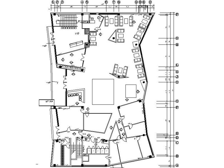 某售楼处装饰工程设计施工图