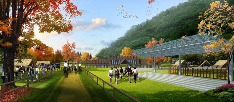 农旅景观:贵州云溪谷设计图_8