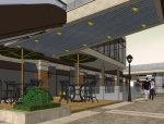 商业街,沿街,现代主义风格,9层沿街商业.skp