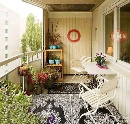 """158款·精致阳台改造案例,小阳台也有""""花园梦""""!_122"""