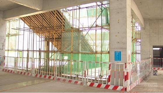 [天津]建筑工程施工安全管理方案(附图)