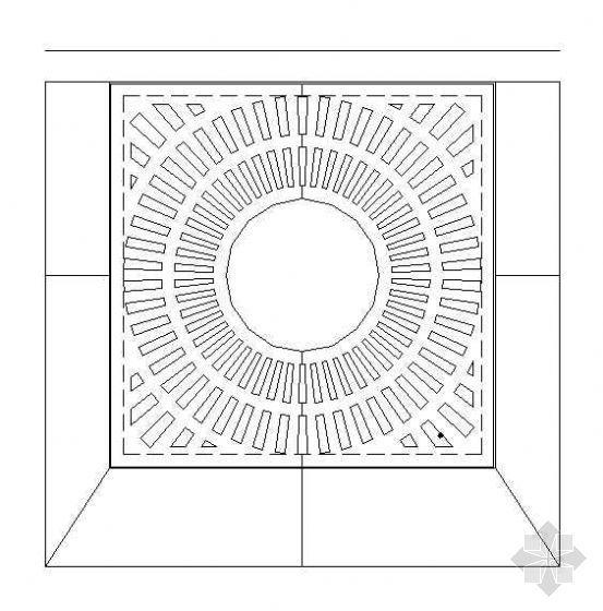 铸铁盖板树穴做法(2)