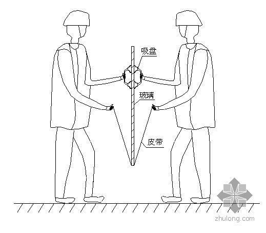 湖南某高层商业楼幕墙工程施工组织设计(鲁班奖)