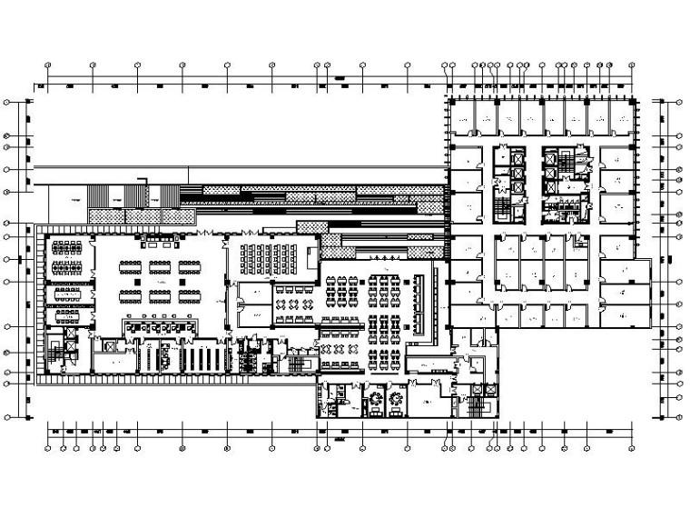 [杭州]国内知名集团商务大楼室内设计施工图-[杭州]国内知名集团商务大楼室内设计平面图
