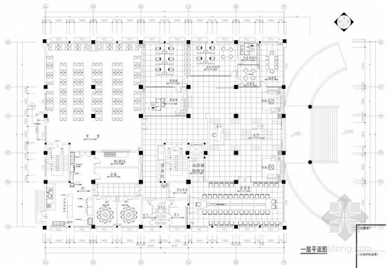 [浙江]某知名企业现代风格办公室设计施工图(含效果图)