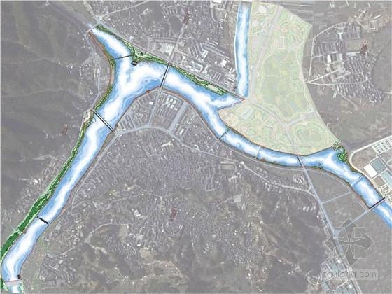 [安徽]滨水慢行系统区域景观规划设计方案