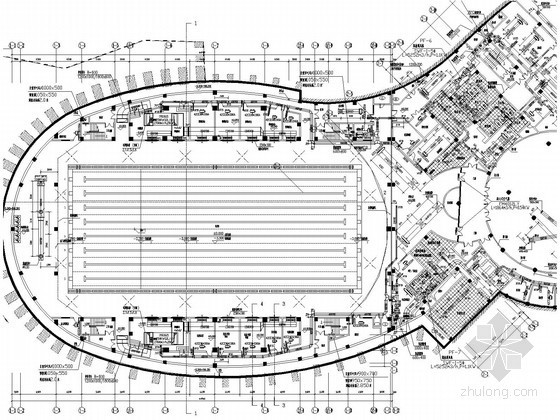 [重庆]多层综合楼空调通风排烟系统设计施工图(甲级院设计 游泳馆设计)