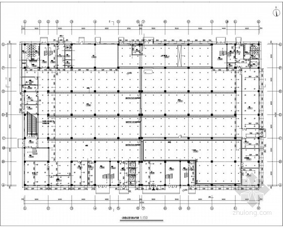 电子科技集团公司厂房给排消防施工图
