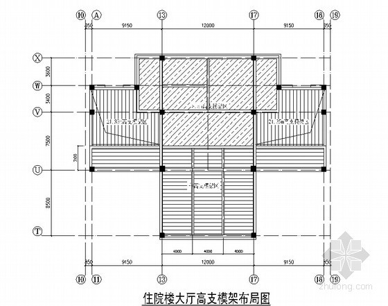 [内蒙古]框剪结构医院工程高支模架工程施工方案(45页)