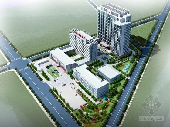 [山东]22层医院综合楼建筑设计方案文本