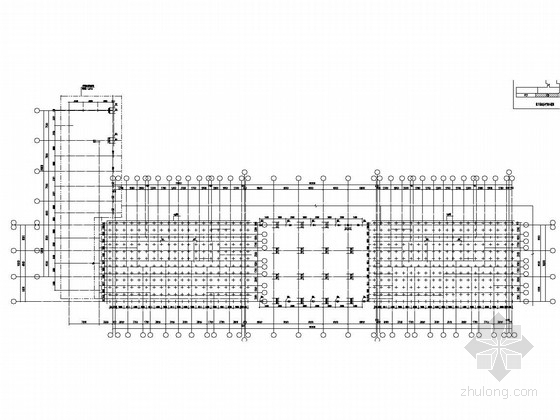大型住宅小区框架结构地下室结构图
