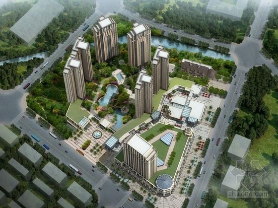 [广东]欧式风格高端商住小区规划设计方案文本