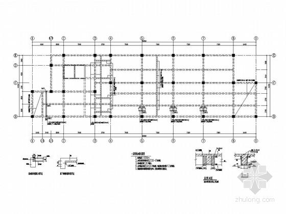 [江西]地上13层书店结构改造加固施工图