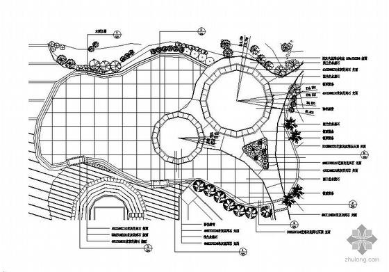 杭州某小广场设计方案全套