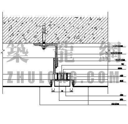 复合铝板幕墙标准大样图1