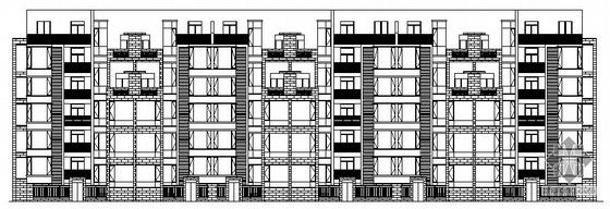 [济源市]某五层住宅楼建筑施工图带效果图max模型