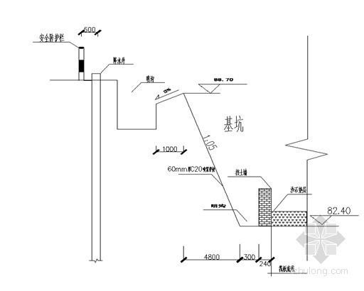 [河南]地下车库土钉喷锚支护及管井降水施工方案