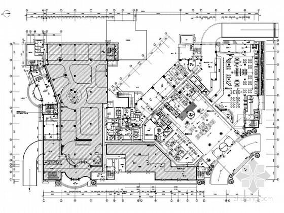 [浙江]大型五星级酒店全套弱电智能系统施工图纸(99米高,裙房)