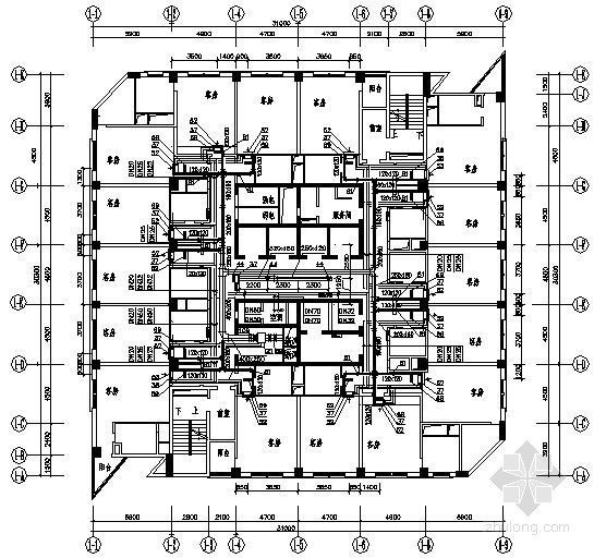[北京]某五星级酒店中央空调系统设计图纸