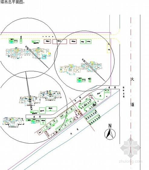 [河南]高层住宅工程塔吊安装施工方案(QTZ630)