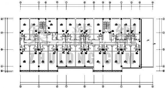 某学校宿舍楼VRV空调设计图
