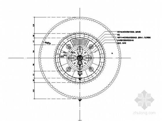 现代水景喷泉设计施工图