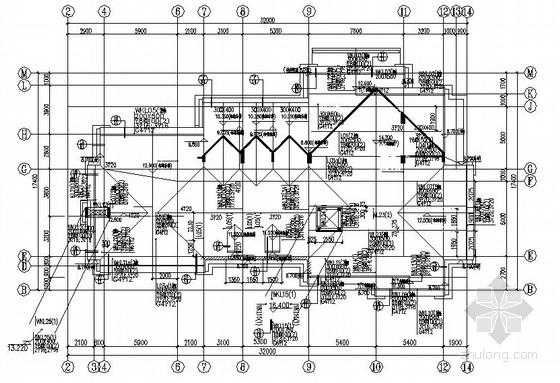 三层框架公建结构施工图