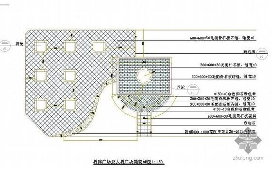 四川医院景观设计施工图全套