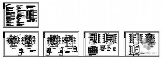 南方某私人别墅建筑结构图