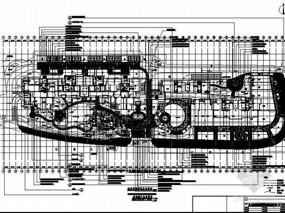 [福州]中高档居住区景观设计施工图