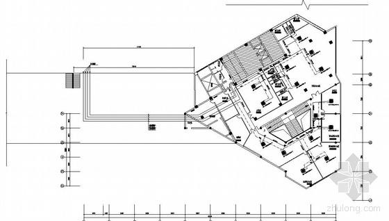 VRV多联空调图纸资料下载-某营业部变频多联空调图纸