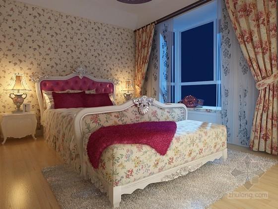 欧式田园风卧室