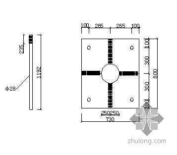定位板及满中筋在独立柱基础中的应用