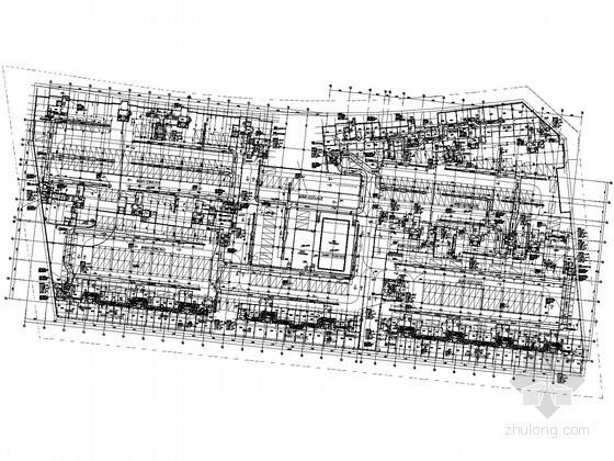 [河南]住宅及地下车库通风防排烟设计施工图