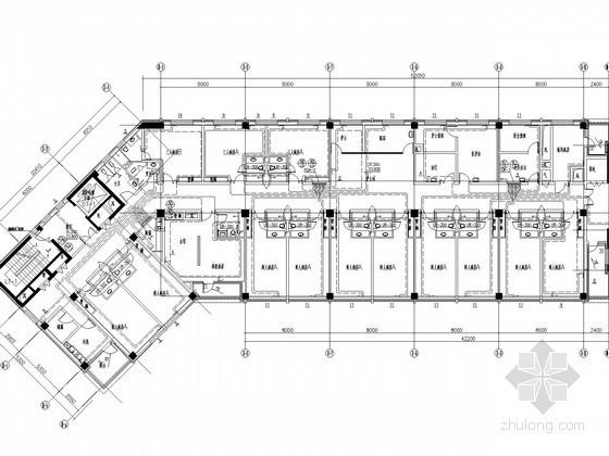 ICU通风设计资料下载-[辽宁]医院综合楼空调采暖通风及排烟系统设计施工图(甲级院设计)