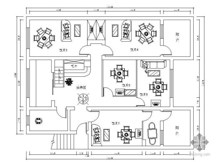 [湖南]某小茶楼装修图