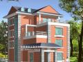 现代风格别墅设计方案(包含效果 图+CAD)